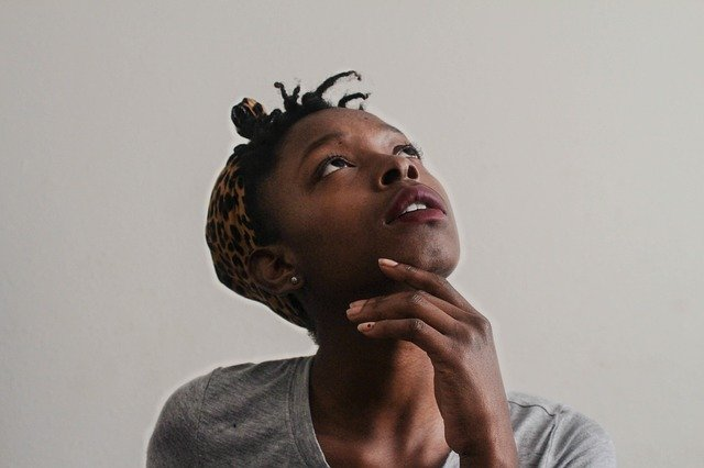 Femme - noire