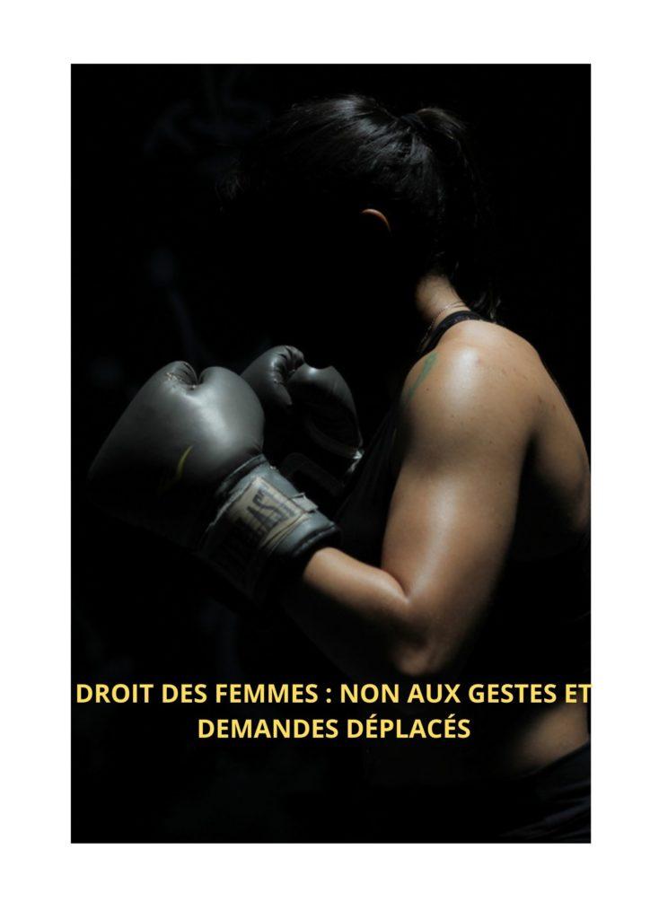 droit de dire non_femme_boxe