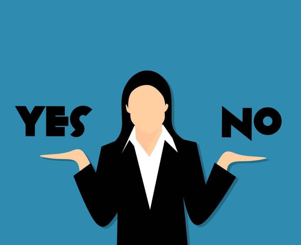 femme_droit de dire oui ou non